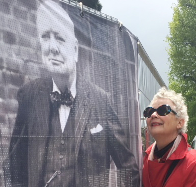 Anne Block and Winston Churchill